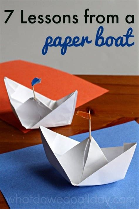 7 lessons learned while paper boats preschool and 829 | 590997afe88e5ba2e0b1a0fd32ae8a64