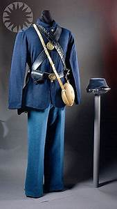 1. This Civil War uniform was worn by the Union infantry ...