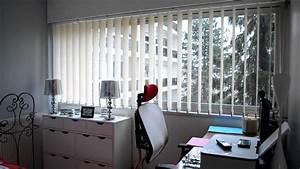 Rideaux Occultants Ikea : cidev stores bandes verticales pour chambre youtube ~ Teatrodelosmanantiales.com Idées de Décoration
