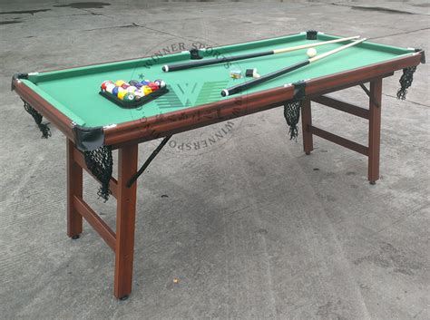 small pool table size 72 inch folding american pool table biilard table family