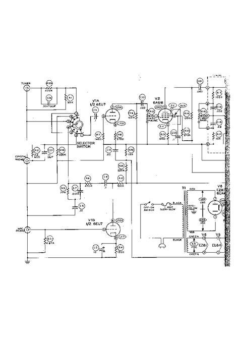 heathkit aa 161 14w el84 audio pa sch service manual schematics eeprom repair info
