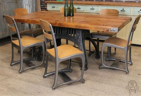 industrial looking dining room tables chair archives vintage industrial retro