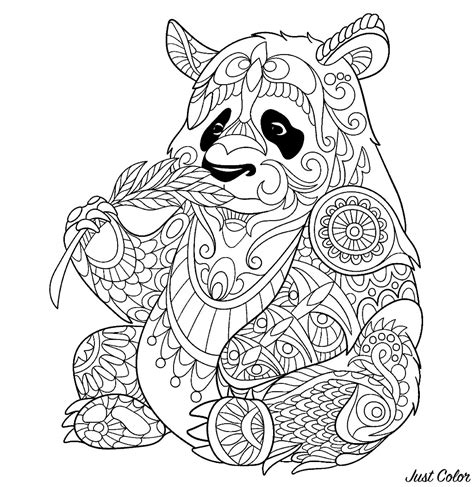 disegni da colorare per adulti da stare panda 80543 panda disegni da colorare per adulti