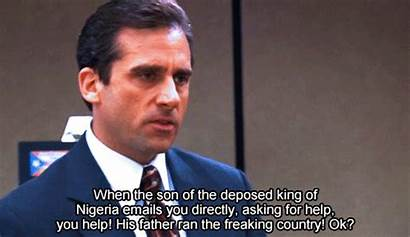 Scott Michael Prince Scam Nigerian Office Email