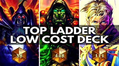 Top Ladder Low Cost Deck Hearthstone Best Deck Of The