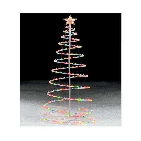 spiral christmas tree lighted unanswerable questions