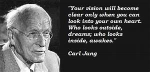 Carl Jung Quote... Jungian Synchronicity Quotes