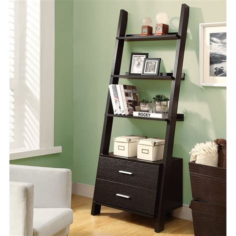 Bookcases Canada by Monarch Specialties I 25 Ladder Bookcase Lowe S Canada