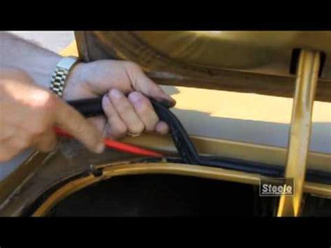 remove  replace trunk auto weatherstripping