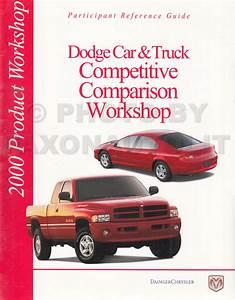 2000 Dodge Ram Van  U0026 Wagon Repair Shop Manual Original