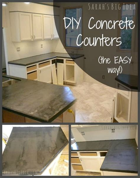 Best 25  Concrete counter ideas on Pinterest   Counter top