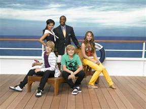 category characters of the suite life on deck the suite