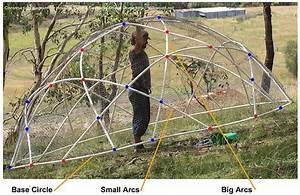 How To  Build A Geodesic Chook Dome