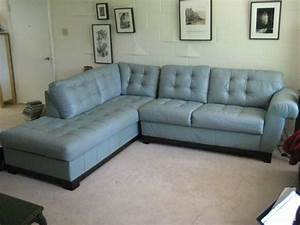 blue leather 2 pc sofa sectional alton il for sale With 2 pc sectional sofa sale
