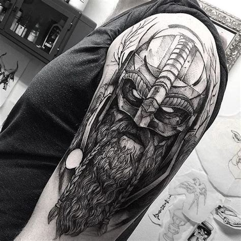1001 coole und realistische viking tattoos zum inspirieren
