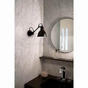 Applique Salle De Bain Noire : applique murale de salle de bain lampe gras n 304 dcw editions comptoir des lustres dans ~ Teatrodelosmanantiales.com Idées de Décoration