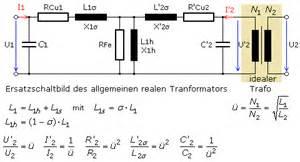 Strom Berechnen 3 Phasen : realer transformator ersatzschaltbild und eigenschaften ~ Themetempest.com Abrechnung