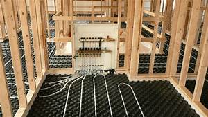 Uponor Residential Radiant Heating Installation