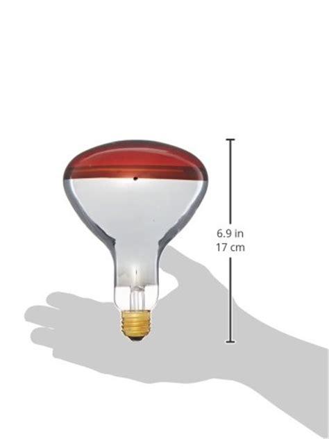 philips 415836 heat l 250 watt r40 flood light bulb