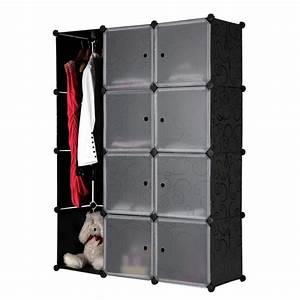 Armoire A Etagere : armoire rangement etagere achat vente armoire de chambre pas cher couleur et ~ Teatrodelosmanantiales.com Idées de Décoration
