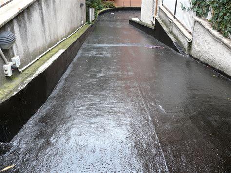 guaina per terrazzi polyu standard guaina bicomponente carrabile resinsiet srl