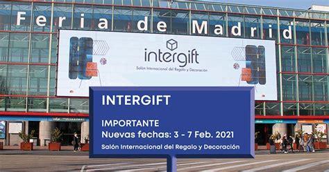 Intergift del 7 al 11 de septiembre en Madrid adelanta ...