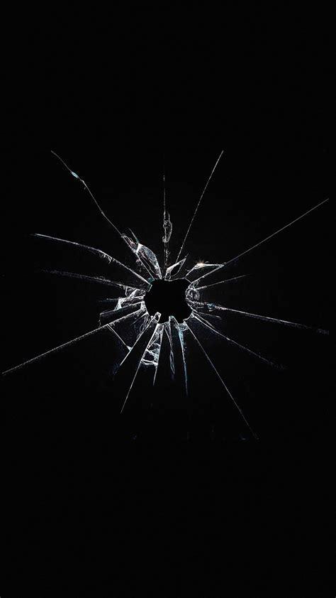 Broken Screen Wallpaper Iphone 6 Plus by Apple Logo Window Broken Iphone 6 Wallpaper