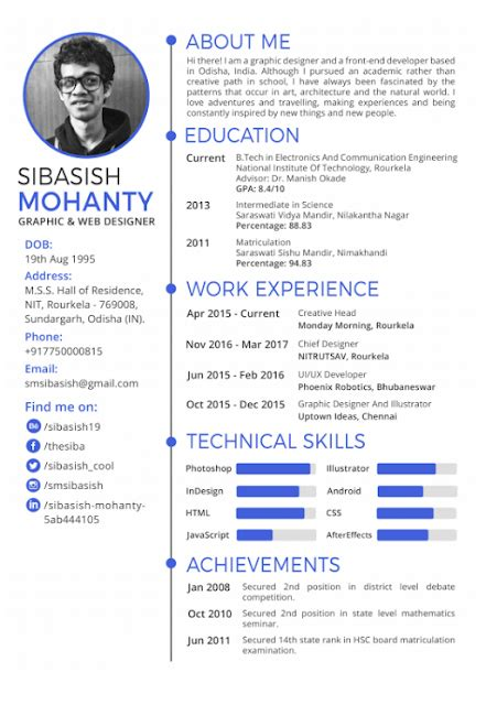 Curriculum Template Word by Curriculum Vitae Cv Resume Templates It Classes