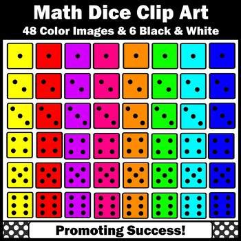 dice clip art  math dice games centers activities