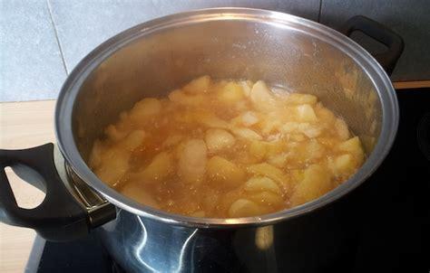 une recette simple et saine de la compote de pomme