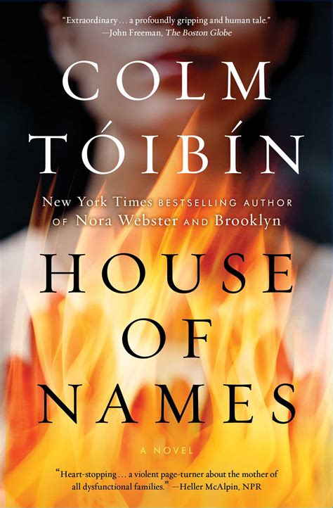 house  names book  colm toibin official publisher