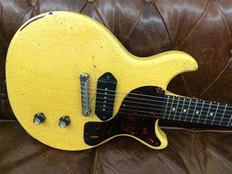 gibson les paul jr tv gibson les paul junior tv 1959 tv yellow guitar for