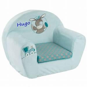 Fauteuil Enfant Personnalisable : fauteuil club enfant personnalis gaston le cheval ~ Melissatoandfro.com Idées de Décoration
