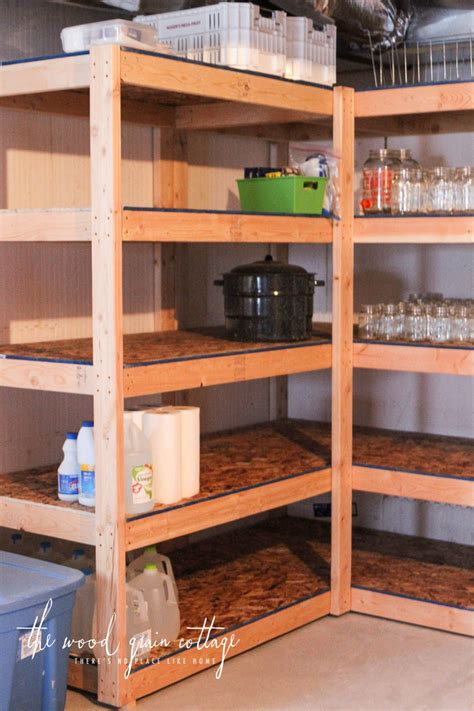 Shop Storage Shelves by Diy Basement Shelving Basement Basement Shelving