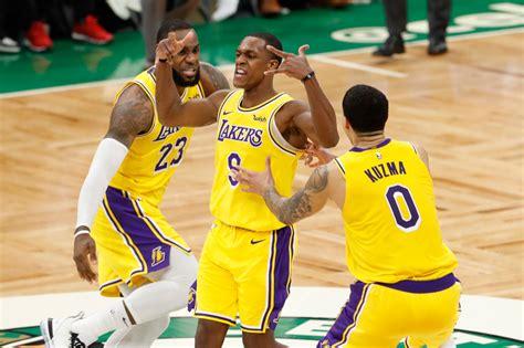 NBA: Rondo's buzzer-beater gives Lakers win in Boston ...