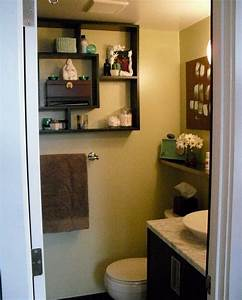 Small bathroom on budget but big on style for Decorate a small bathroom on a budget