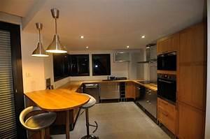Spot Plafond Cuisine : spots led encastrables de 7w dans un salon led 39 s go ~ Melissatoandfro.com Idées de Décoration