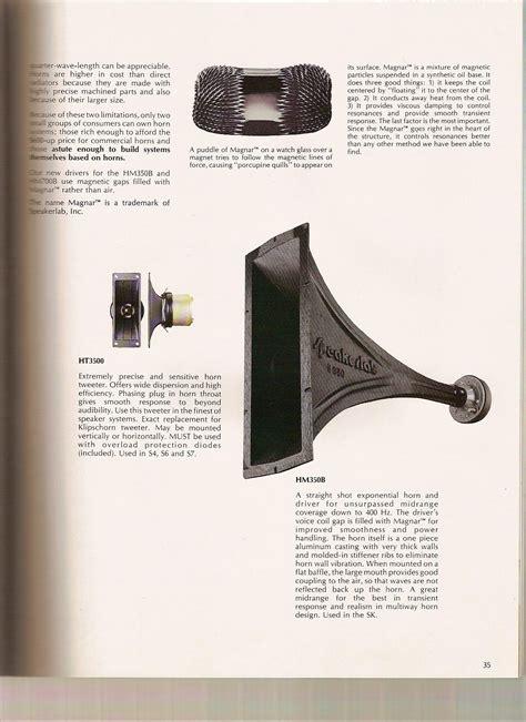 speakerlab khorns technicalmodifications  klipsch