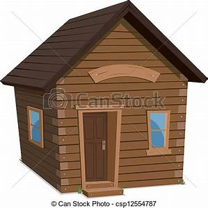 vecteur de maison bois style de vie illustration de With dessin de maison en bois