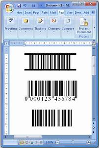 Using the barcode font with microsoft office word for Barcode font for word
