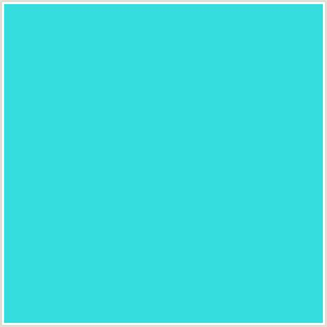 color turquoise 34dddd hex color rgb 52 221 221 light blue turquoise