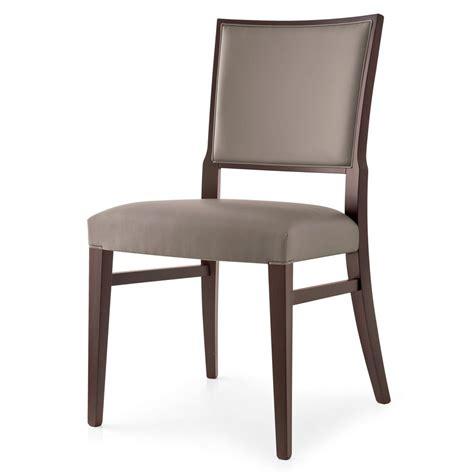 chaise couleur 510 chaise moderne en bois recouverte en tissu en