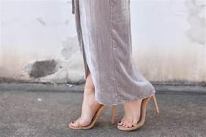 Grey-Velvet-Wrap-Dress MURPHY'S LAW