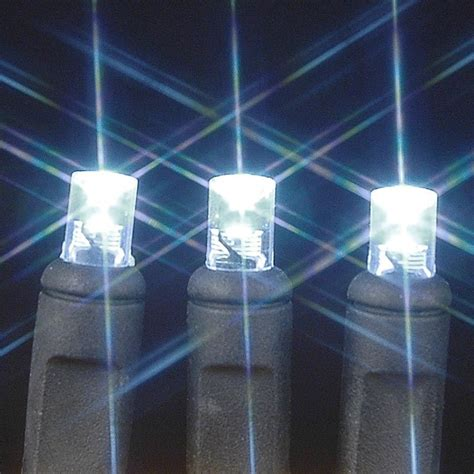 50 led christmas lights white wide angle pure white 50 bulb led christmas lights sets 11