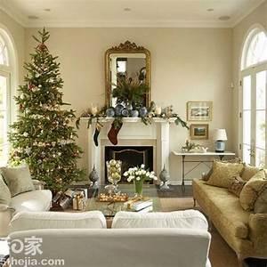 圣诞节客厅布置方案大集合 14图详解装饰细节 10 新浪家居