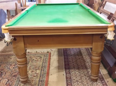 antique snooker tables  sale browns antiques