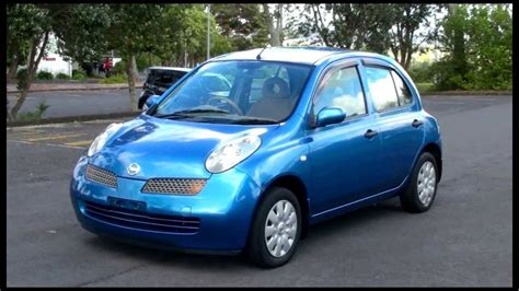 nissan micra 2004 nissan march 2004 1 2l manual youtube