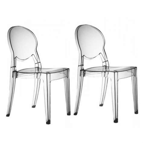 soldes chaises design chaises transparentes design régence soldes chaise