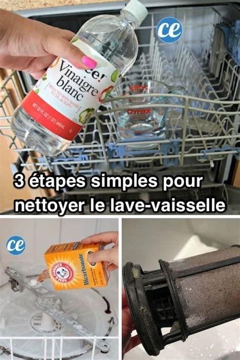3 201 simples pour nettoyer votre lave vaisselle en profondeur