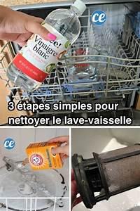 Comment Nettoyer Lave Vaisselle : 3 tapes simples pour nettoyer votre lave vaisselle en ~ Melissatoandfro.com Idées de Décoration